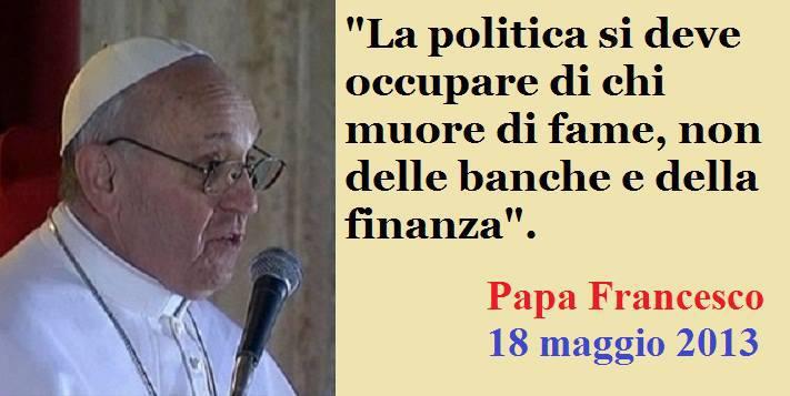 papa e finanza