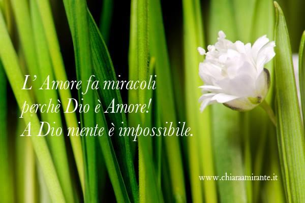 l'amore fa miracoli