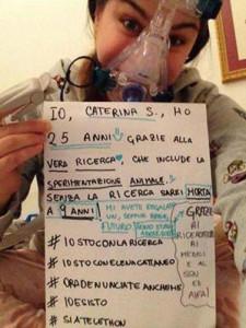 Caterina Simonsen, studentessa 25enne nata a Padova e iscritta a