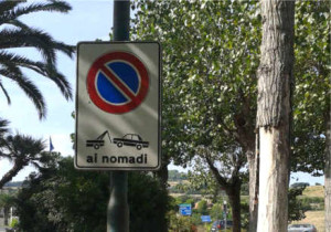 divieto ai nomadi