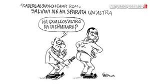 Salvini e i rom