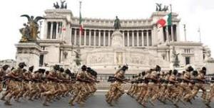 parata militare bersaglieri